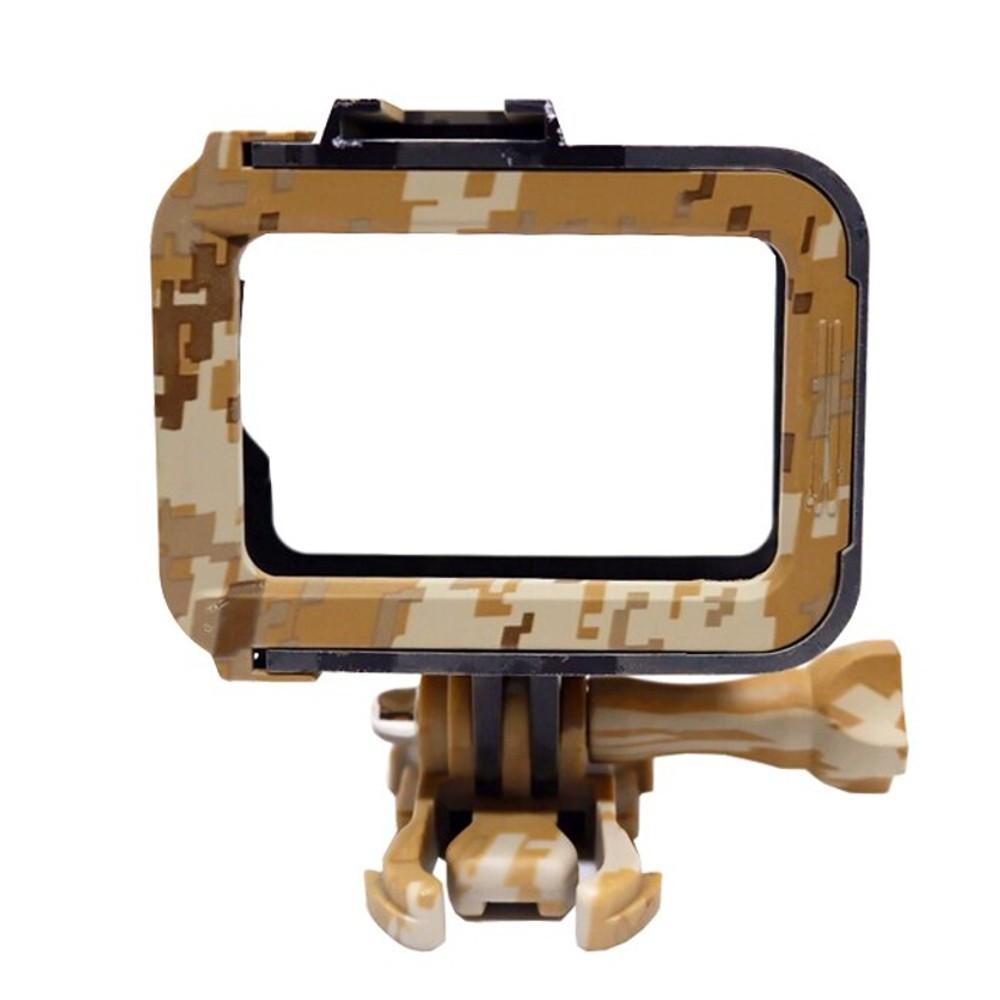 Suporte Armação Moldura Frame Camuflado Marrom Gopro Hero 8