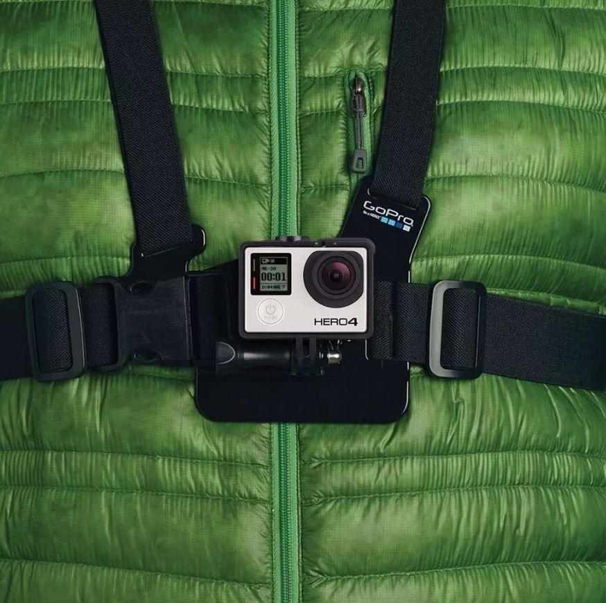 Suporte Colete Peitoral Original Gopro Chest Harness Gchm30 - Compativel com todas as GoPro