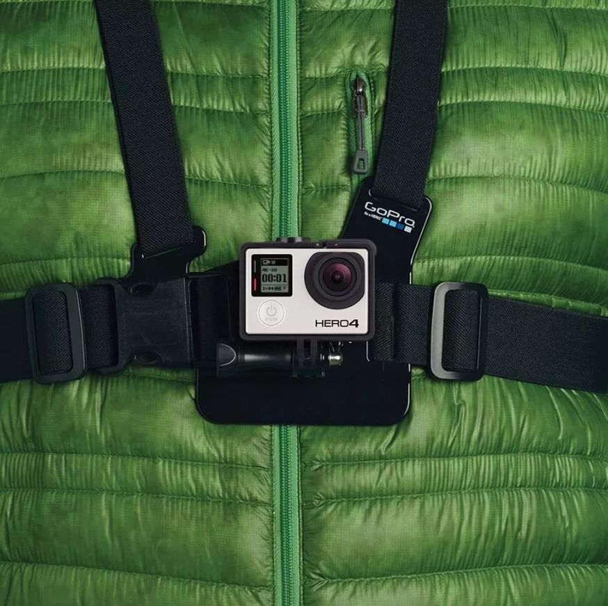 Colete Peitoral Chest Harness Original GoPro Gchm30