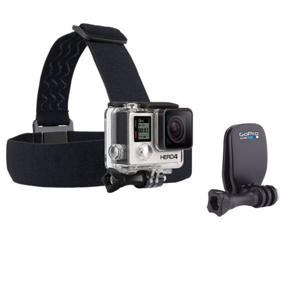 Suporte de Cabeça Original GoPro + QuickClip Head Strap achom-001