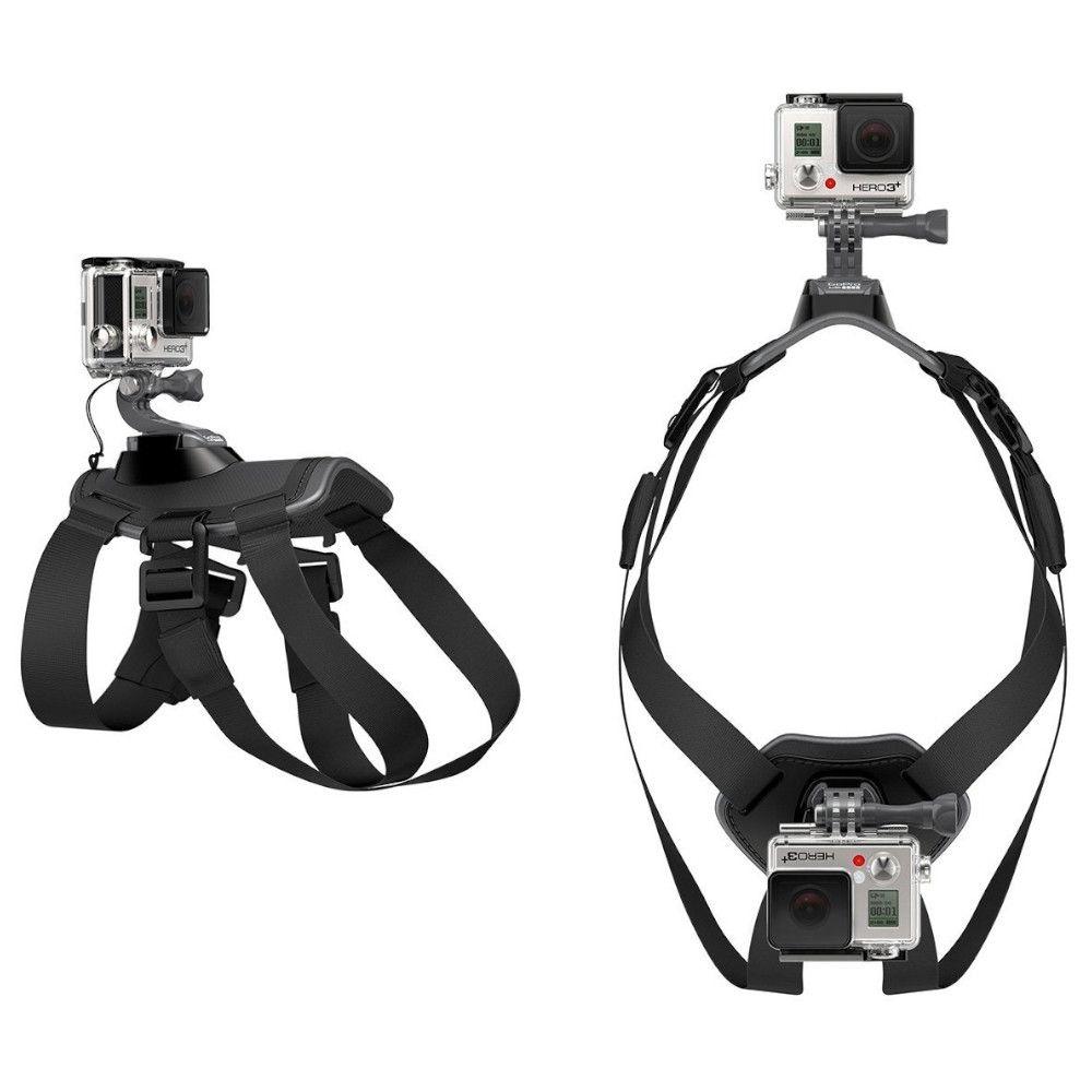 Suporte Dog Harness Cachorro Original para Câmeras de Ação GoPro Hero SJCam Xiaomi