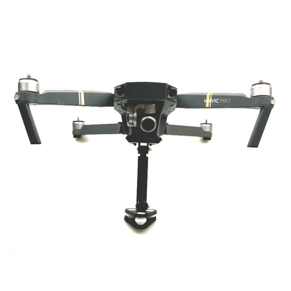 Suporte Drone DJI Mavic Pro Adaptação em Câmeras 360º Absorção Choque