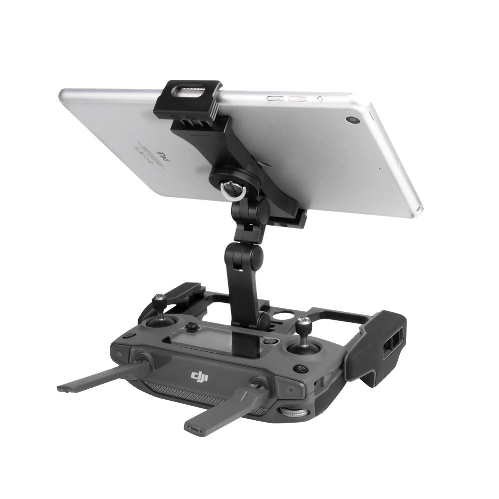 Suporte em alumínio de Tablet e Celular para controles de Drones da DJI Spark e Mavic