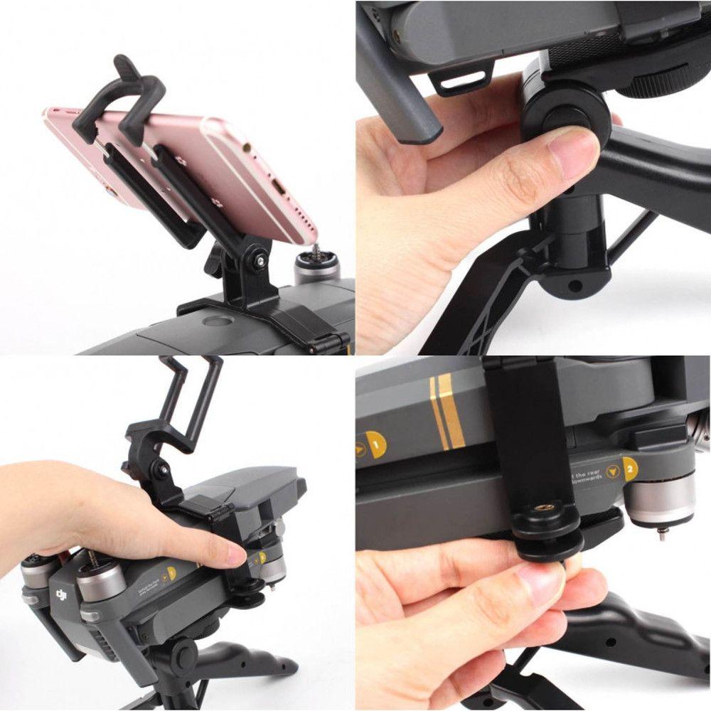 Suporte Estabilizador Drone DJI Mavic Pro com Bastão Tripé Portátil