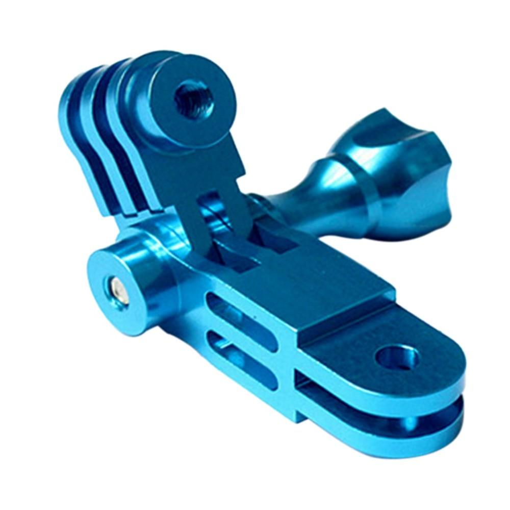 Suporte Extensor Pivot em alumínio para GoPro SJCam Azul