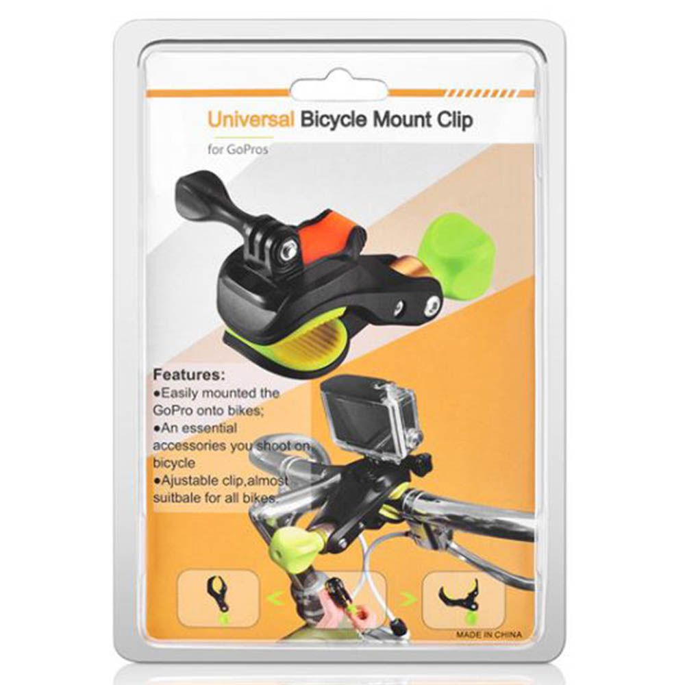 Suporte Garra de Bike/Moto para Câmeras de Ação GoPro Hero SJCam Xiaomi