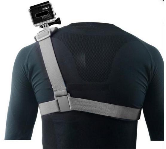 Suporte Ombro Gopro 2,3,3+,4 - Shoulder Mount Harness