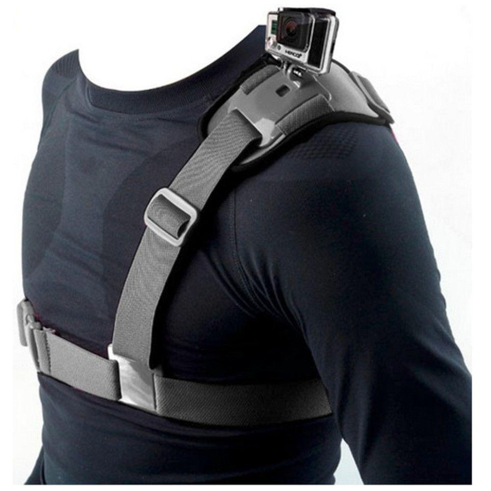 Suporte Ombro Shoulder Mount Harness para GoPro e SJCam