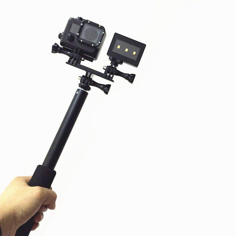 Suporte Para Câmera E Flash GoPro Hero e SJCam