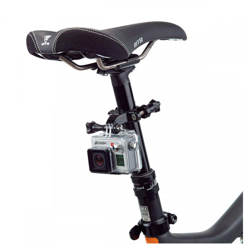 Suporte para Guidão E Cilindro de Bike para Câmeras de Ação GoPro Hero SJCam Xiaomi
