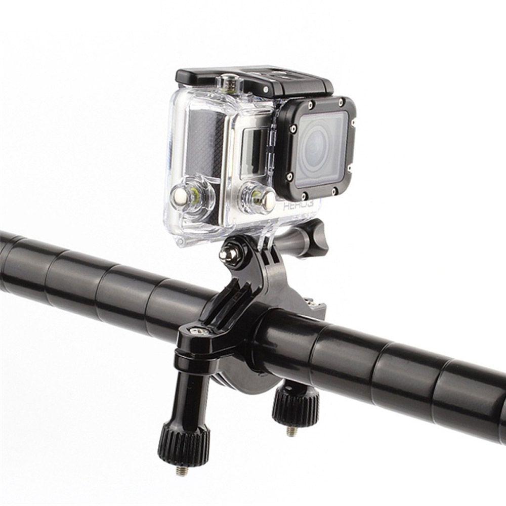 Suporte Guidão E Cilindro de Bike para Câmeras GoPro SJCam Xiaomi