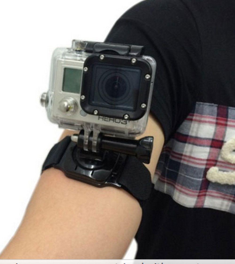Suporte Punho Pulso 360 graus para Câmeras de Ação GoPro Hero SJCam Xiaomi