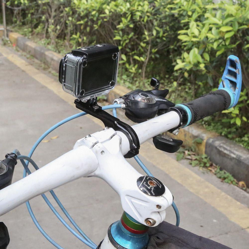 Suporte Ride de Bike/Moto/Cilindro em alumínio para GoPro e SJCam