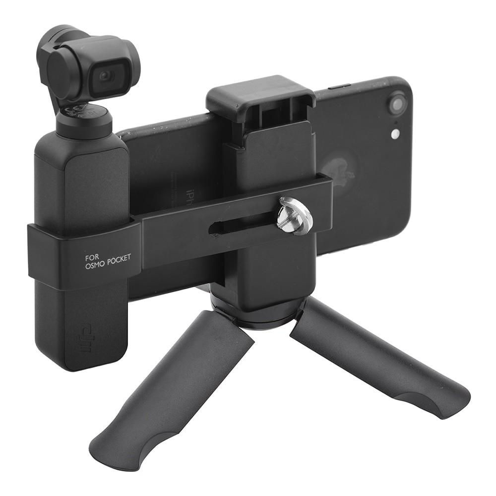 Suporte Tripe Tripod para Celular e  Câmera DJI Osmo Pocket