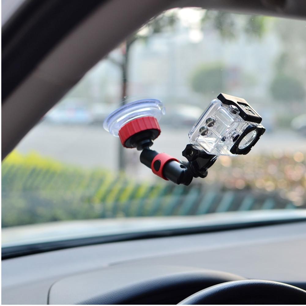 Suporte Ventosa Sucção para câmeras GoPro, SJCam e Action Cams