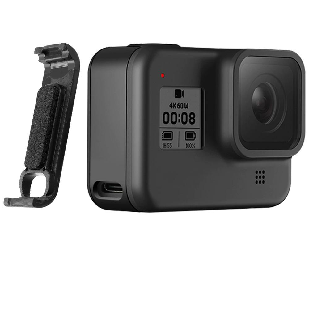 Tampa Lateral Aberta de Bateria para Câmera GoPro 8 Black