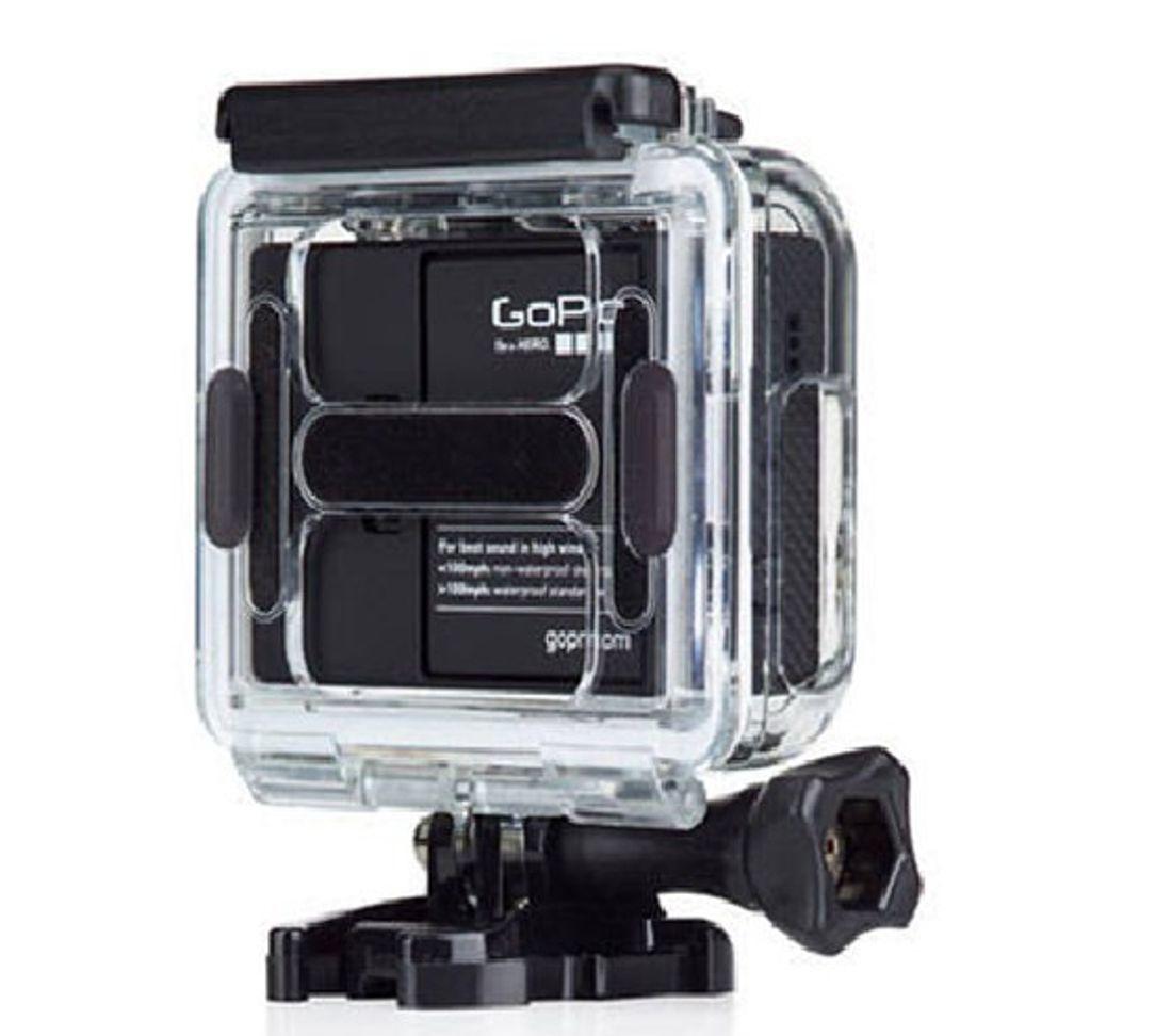 Tampa Traseira Aberta Case para Câmeras de Ação GoPro Hero 3+, 4