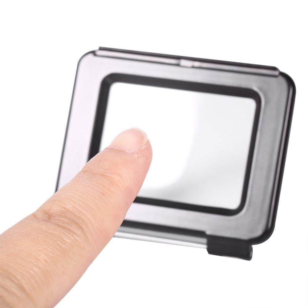 Tampa Traseira Touch para Cx Estanque GoPro Hero 3+ 4 - Preta