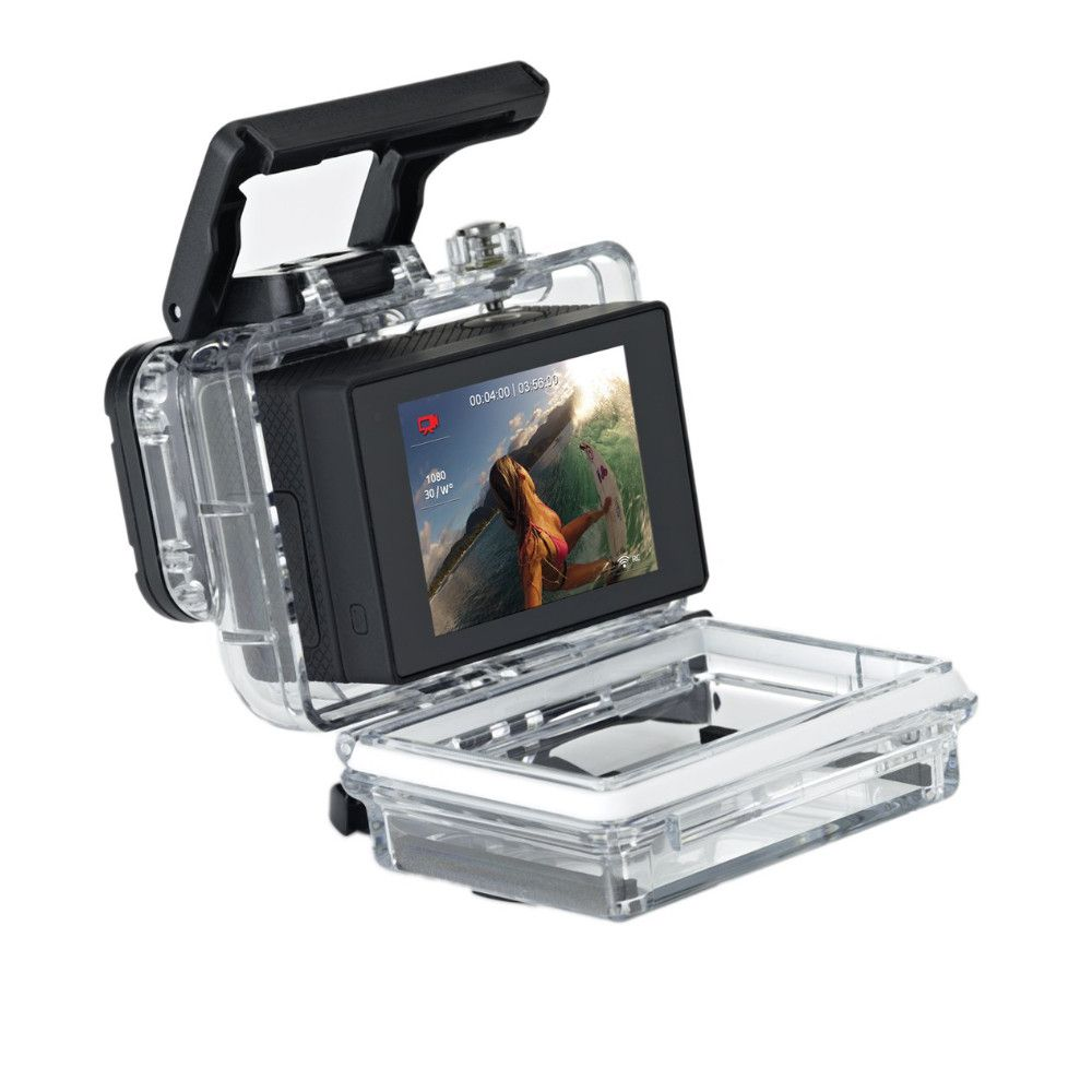 Tela Lcd 2' com tampa extensora GoPro Hero 3+/4