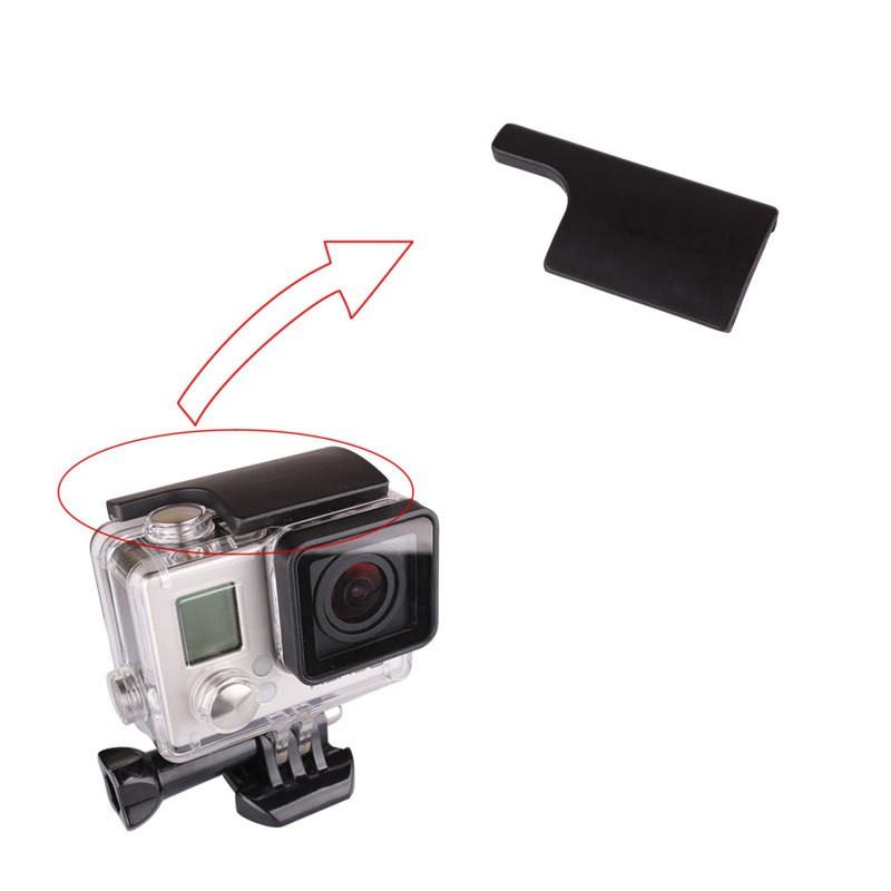 Trava Plástica com anel para Câmeras de Ação GoPro Hero 3+, 4