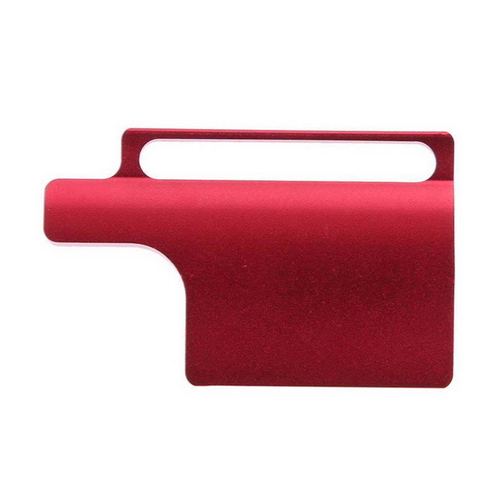 Trava segurança aluminio com Anel para Hero 3+/4 - Vermelho