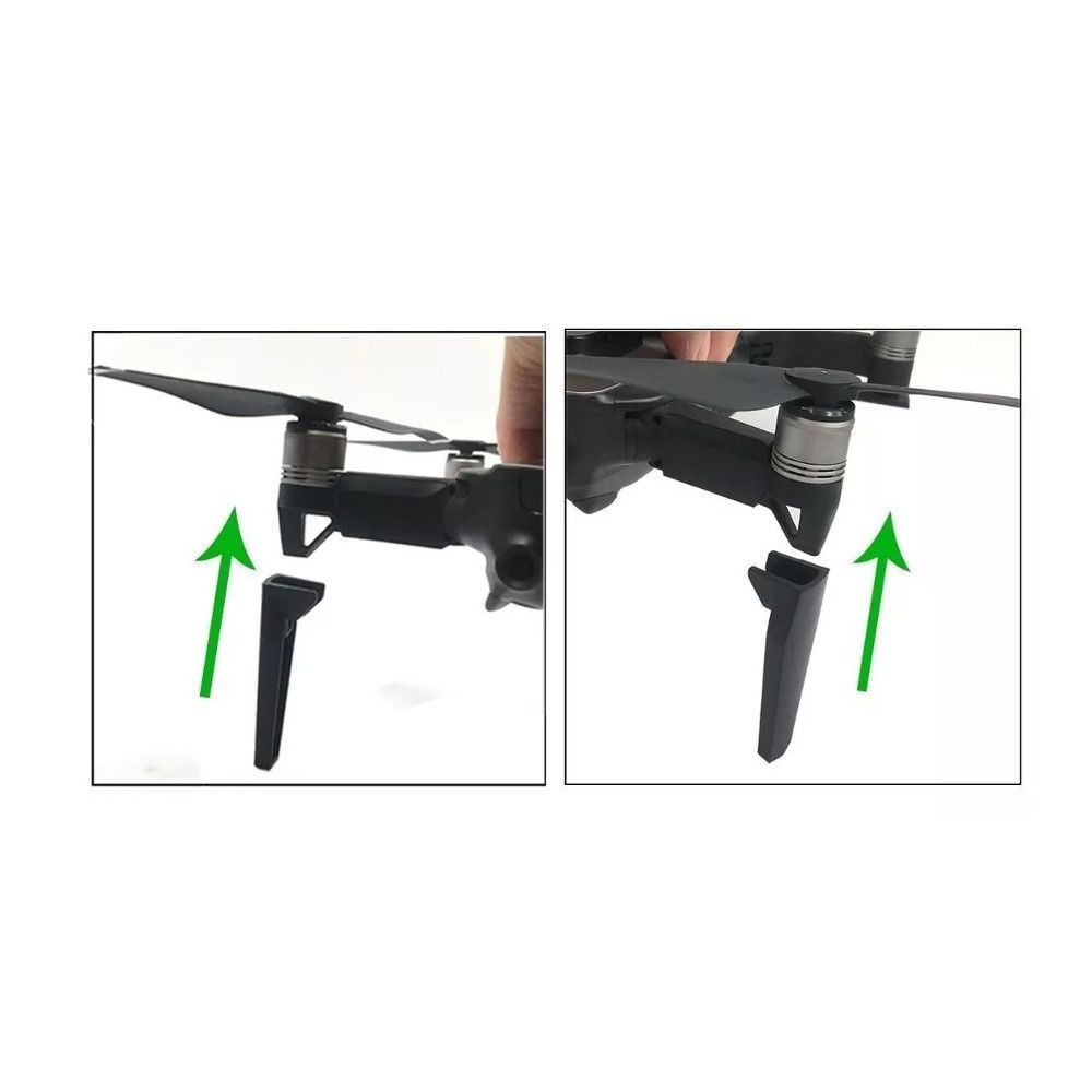 Trem de pouso estendido para Drone Mavic Air 3,5cm
