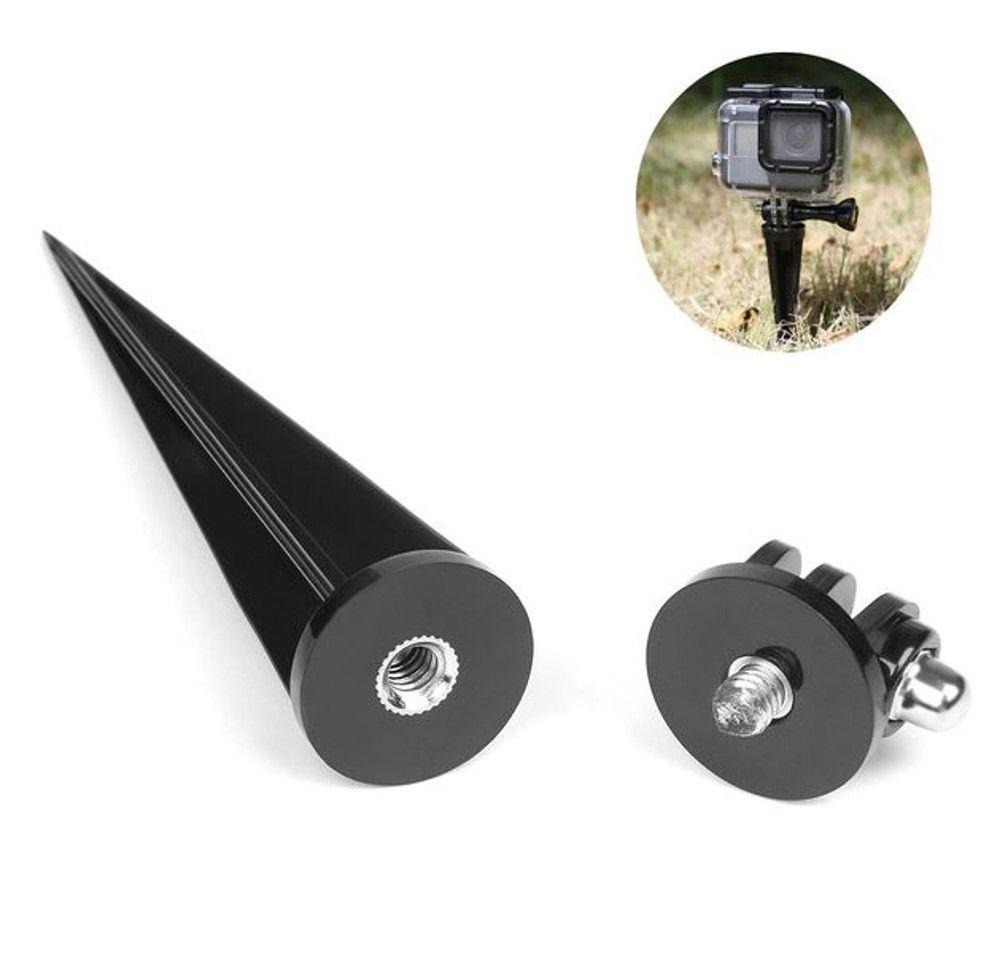 Tripe Pino fixador em areia grama para câmeras GoPro e SjCam