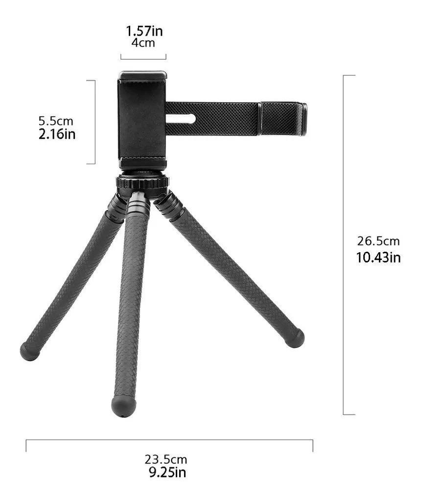 Tripe Tripod para Celular com adaptador para Câmera DJI Osmo Pocket