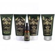 Kit - 2 Balm, 2 Shampoo e Óleo Para Barba - Calico Jack - Don Alcides