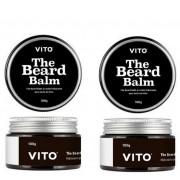 Kit - 2 Balms Para Barba The Beard Balm - Vito