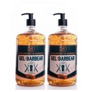 Kit - 2 Gel de Barbear - Shave Cream - 2 kg - Ferramentas de Barbeiros