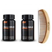 Kit - 2 Maximus Plus Beard - Crescimento Barba - 60 dias - Maximus Mens