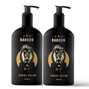 Kit - 2 Shave Cream  280 ml - Creme de Barbear - Baboon