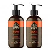 Kit - 2 Shave Cream - Creme de Barbear - Don Alcides