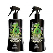Kit - 2 Spray Grooming Fixador de Cabelo - Baba de Calango - Macho-Lândia