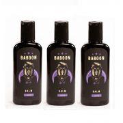 Kit - 3 Balm Para Barba - 140 ml - Baboon