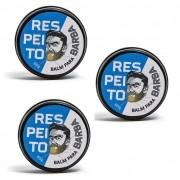 Kit - 3 Balm Para Barba - Barba de Respeito