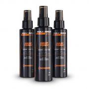 Kit - 3 Maximus Mens Hair Tonic x3 - Fortalecimento e Antiqueda Para Cabelo - 90 dias