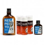 Kit 3 Meses de Tratamento - Crescimento da Barba - Blends + Shampoo + Óleo - Barba de Respeito