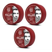 Kit - 3 Pomada Capilar - Killer - QOD Barber Shop