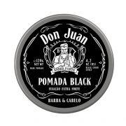 Kit - 3 Pomada Para Cabelo Black Don Juan 120 g - Barba Forte