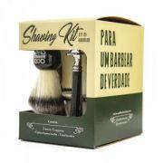 Kit de Barbear Old School Bowl, Pincel de Barba e Barbeador - QOD Barber Shop