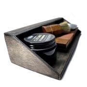 Kit Pincel e Cuidados da Barba - Saboeira Premium - Artesanal - Viking