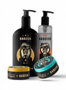 Kit Quarteto Baboon - Matte + Ultra + Shave + Grooming - Baboon