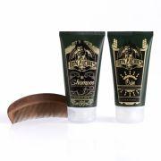 Kit Shampoo, Balm e Pente Para Barba Calico Jack - Don Alcides