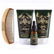 Kit - Shampoo + Balm + Óleo + Pente Para Barba - Calico Jack - Don Alcides