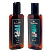 Kit - Shampoo e Condicionador Para Barbas - Beard Brasil