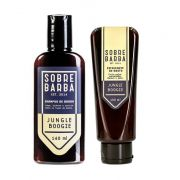 Kit - Shampoo Para Barba e Esfoliante de Rosto - Jungle Boogie - Sobrebarba