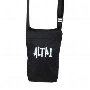 Shoulder Bag Impermeável Preta - Altai