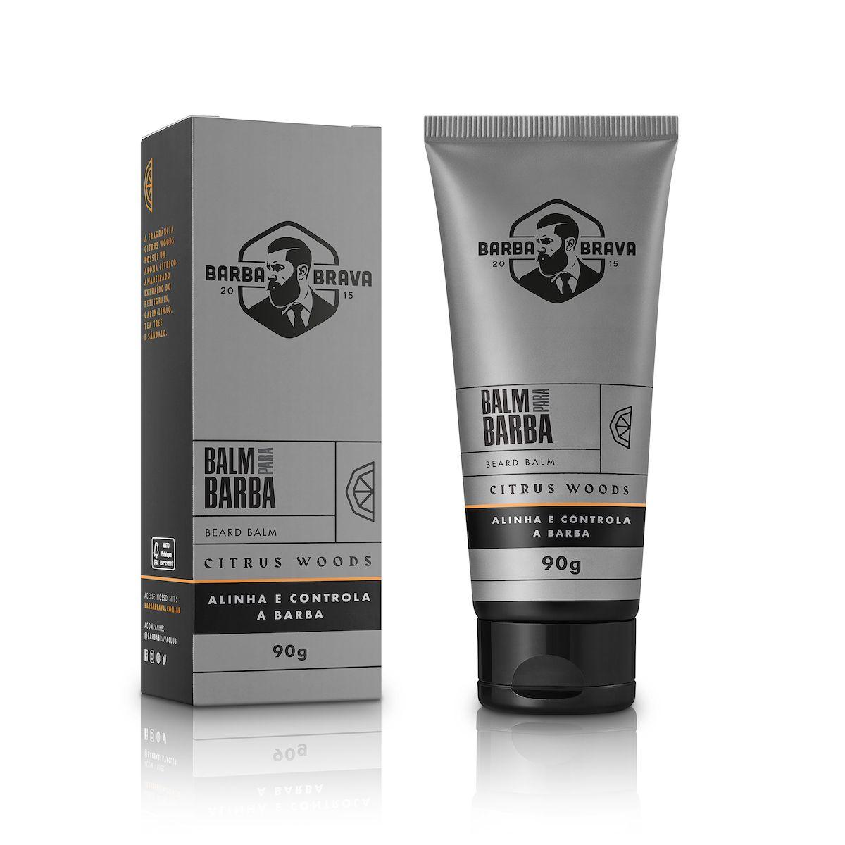 Balm Para Barba - Citrus Woods - Barba Brava